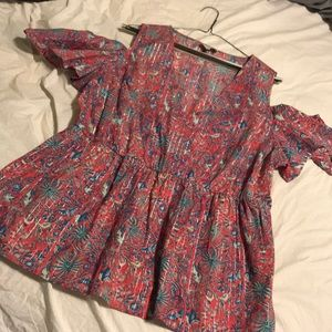 Blouse 1X by lucky brand.